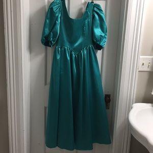 Vintage bridesmaids dress 1989